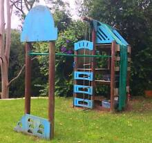 MASSIVE OUTDOOR CLIMBING SET / CUBBY HOUSE - SKYFORT MKIII Holgate Gosford Area Preview