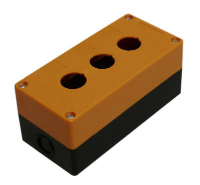 3-hole Switch Box For 22mm 78 Pushbutton Plastic Enclosure Power Push Button