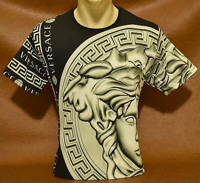 Summer '20 New With Tags Men's VERSACE T-SHIRT Slim Fit Size M to 2XL