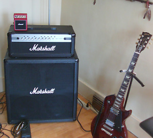 Gibson Les Paul Studio- made in America and Marshall MG100HCFX