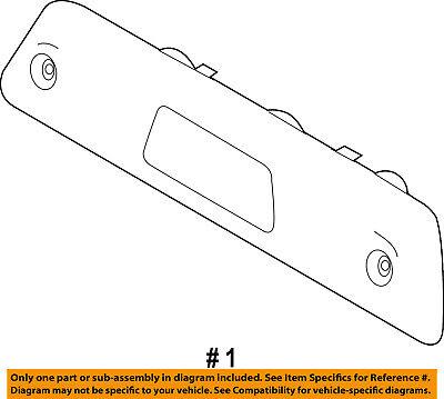 Ford BL3Z-1523200-E Regulator and Motor Assembly-Window