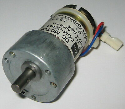 Toshiba High Speed Gearhead Motor - 24 V Dc - 400 Rpm - Dgm-0041-2a - 6mm Shaft