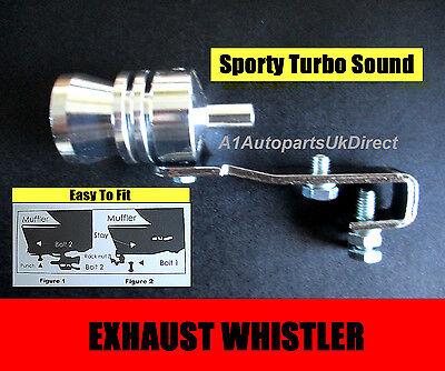 TURBO EXHAUST TAIL PIPE WHISTLER WHISTLE SOUND FITS CITROEN SAXO VTR VTS