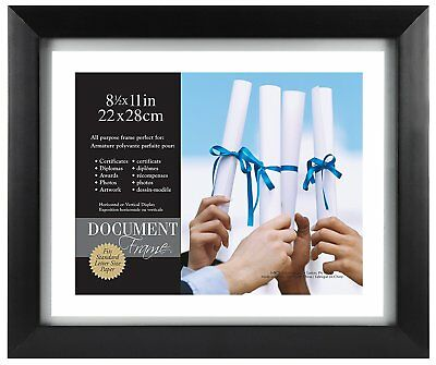 Mcs Float Frame (MCS Wood Float Document Frame 11x14 for 8.5x11 (Same Shipping Any Qty))