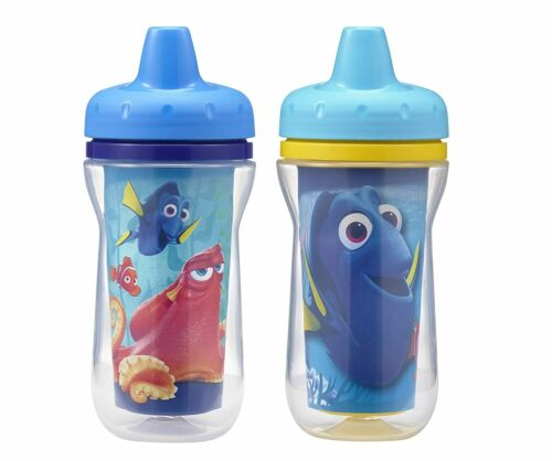 2 Pack Tomy Disney Baby The First Years Finding Dory Insulated Sippy Cup Age 9m+