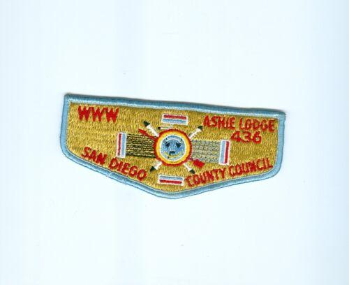 OA  Lodge 436 Ashie flap San Diego County Council
