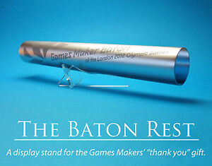 A Custom Display Stand for the Olympic Games Makers' Relay Baton - London 2012