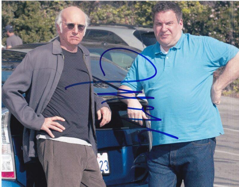 JEFF GARLIN SIGNED 8X10 PHOTO AUTHENTIC AUTOGRAPH CURB YOUR ENTHUSIASM COA