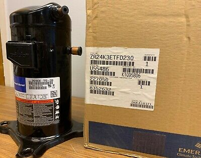 New Copeland Zr24k3e-tfd-230 Welded Compressor 460 V
