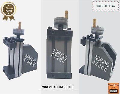 Lathe Vertical Slide Mini For Light Milling Job Work On The Lathe 90x50mm