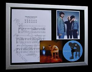 BIFFY-CLYRO-Saturday-LIMITED-CD-QUALITY-MUSIC-FRAMED-DISPLAY-EXPRESS-GLOBAL-SHIP