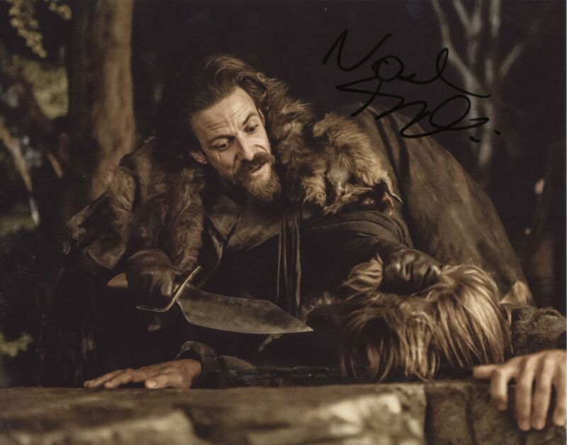 """Noah Taylor """"Game of Thrones"""" AUTOGRAPH Signed 8x10 Photo ACOA"""