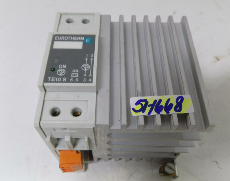 EUROTHERM SOLID STATE CONTACTOR TE10S 50A/240V/HAC/ENG/96/00
