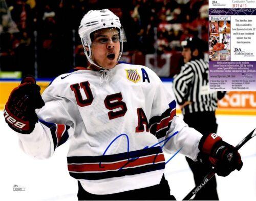 Auston Matthews Signed 11x14 Photo w/ JSA COA #R76409 Toronto Maple Leafs USA