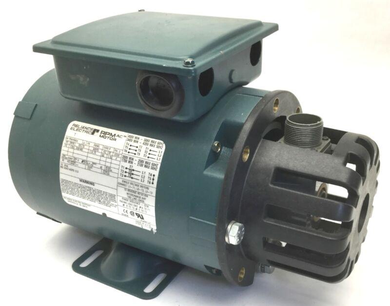 Reliance Electric P56H5604 AC RPM Motor, 1/2HP, 230/460V, 1725RPM, 1.5/.75A