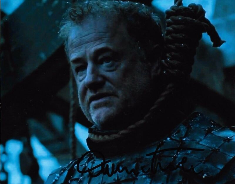 Owen Teale Game of Thrones Autographed Signed 8x10 Photo COA #5