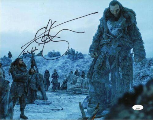 "Ian Whyte Autograph Signed 11x14 Photo - Game of Thrones ""Wun Wun"" (JSA COA)"