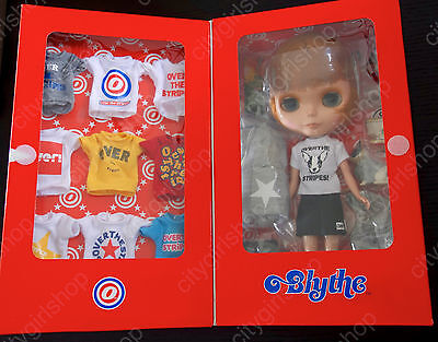 * WOW! HAPPY EVERYDAY OVER THE STRIPES BLYTHE COMPLETE SET * NRFB * LAST ONE! *