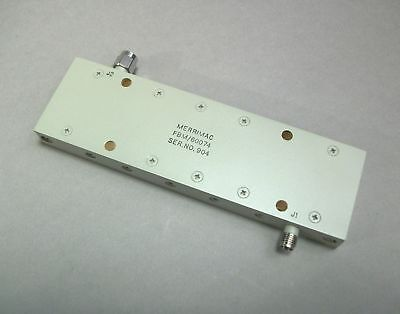 Merrimac Band Pass Filter Fbm60074 Sma Mf - New