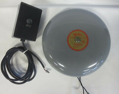 Edwards Audible Signal Appliance 10 Fire Bell 439-10aw With Power Supply