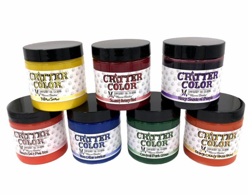 Critter Color - Temporary Pet Fur Coloring