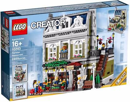 Lego 10243 Creator Parisian Restaurant Modular (BRAND NEW SEALED)