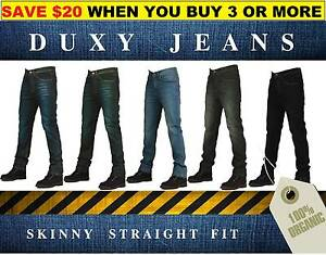 Men's Stretchable Denim Skinny fit Jeans, Duxy. Werribee Wyndham Area Preview