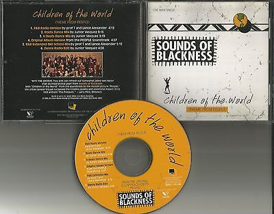 SOUNDS OF BLACKNESS Children Of the World 6TRX REMIXES & EDIT USA CD Single