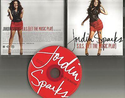 Jordin Sparks S O S  Let The Music Play Rare 2009 Promo Radio Dj Cd Single Sos