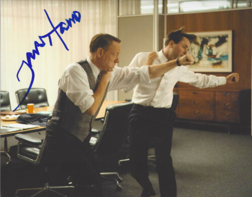 ACTOR JARED HARRIS SIGNED 'MAD MEN' LANE PRYCE 8X10 PHOTO C COA CHERNOBYL PROOF