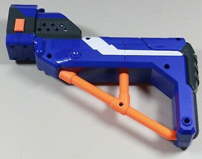 Nerf Gun N Strike Retaliator Shoulder Stock Extension Attachment Blue 2011