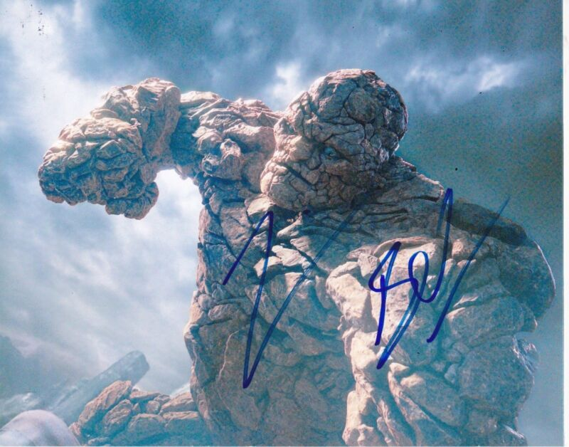 JAMIE BELL SIGNED 8X10 PHOTO AUTHENTIC AUTOGRAPH FANTASTIC FOUR THE THING COA B