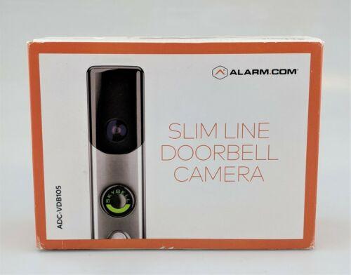 Skybell Slim Line Doorbell Camera ADC-VDB105 Silver In Box Good Shape