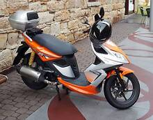 Kymco Super 8 125cc Lams approved Chigwell Glenorchy Area Preview