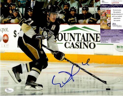 Evgeni Malkin Signed 11x14 Photo w/ JSA COA #M93328 Pittsburgh Penguins