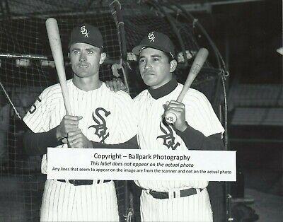 Jerry McNertney & Cam Carreon 1964 Chicago White Sox Comiskey Park 8x10 Photo