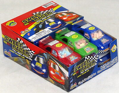 Sweet Racer (Sweet Racer Pull Back Candy Filled Car Kidsmania Novelty Bulk 12 Count Box )