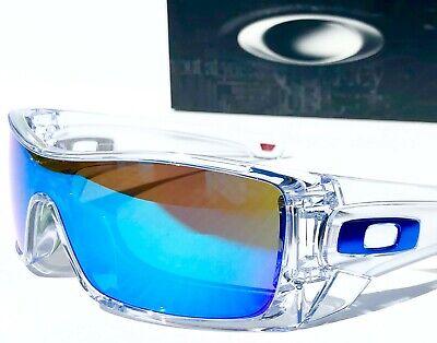 NEW* Oakley BATWOLF CLEAR w POLARIZED PRIZM Sapphire Sunglass 9101-63