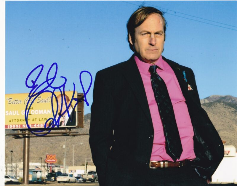 BOB ODENKIRK SIGNED 8X10 PHOTO AUTHENTIC AUTOGRAPH BREAKING BETTER CALL SAUL C