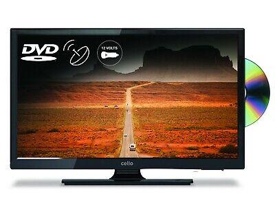 "CELLO 20"" 12 VOLT LED TV+ FREEVIEW HD + DVD & SATELLITE TV + 12v & 240V cables"