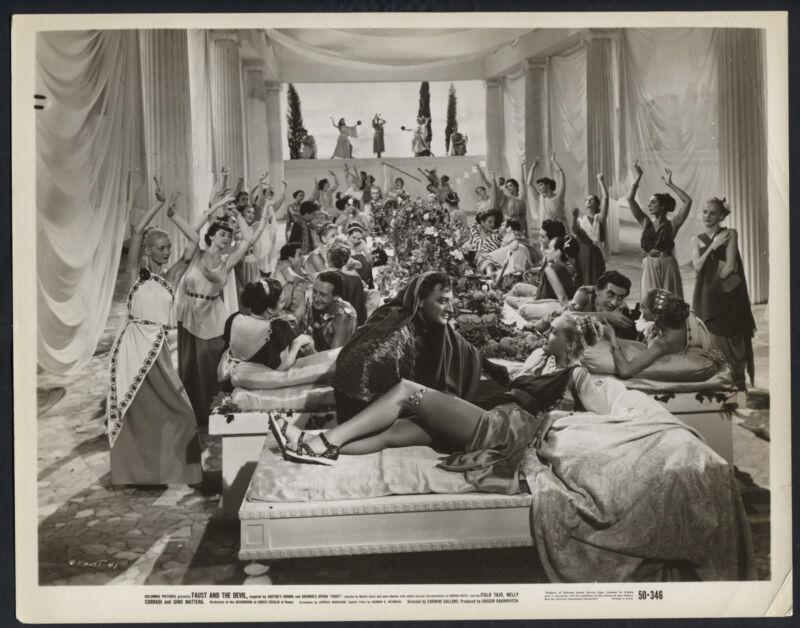 Faust And The Devil '50 ITALO TAJO NELLY CORRADI DANCING GIRLS