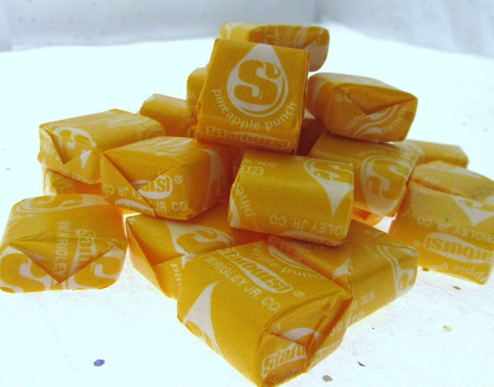 Starburst Pineapple Punch ~ Fruit Chews ~ 8oz Candy ~ Half P