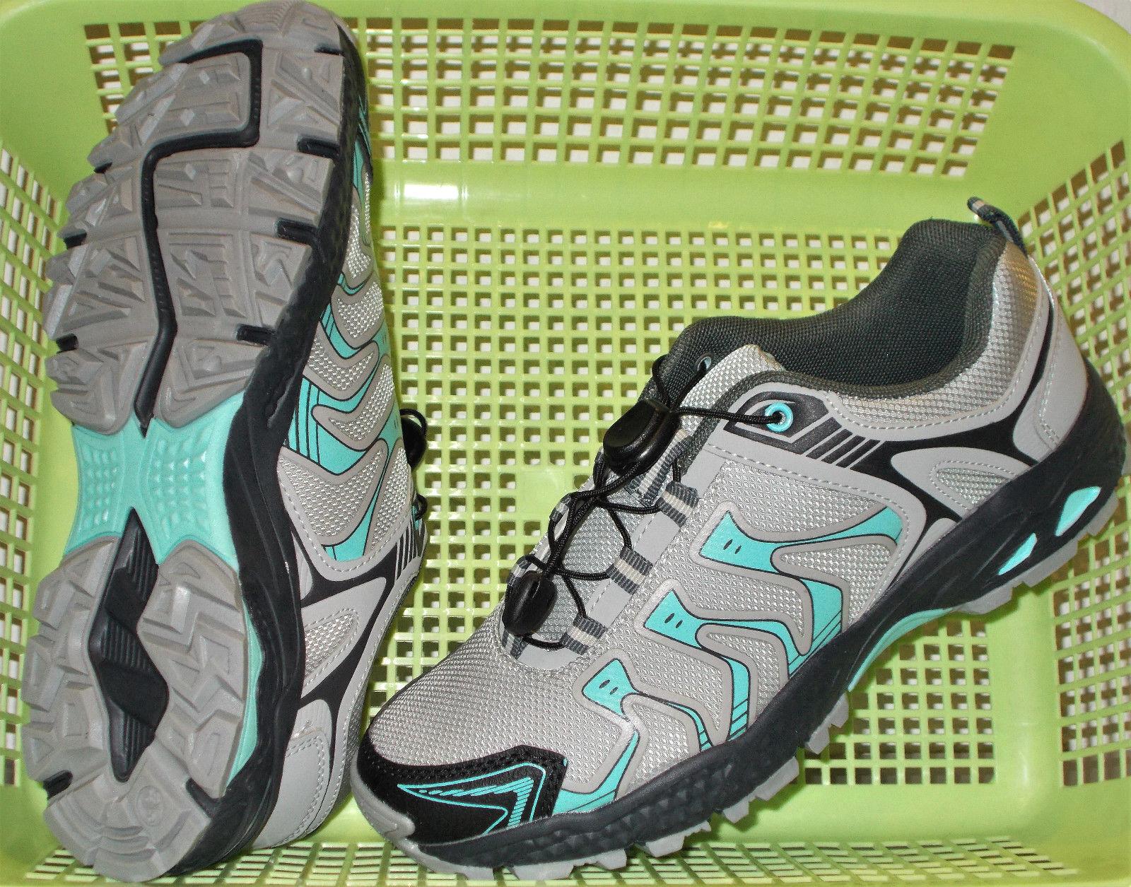 Damen LAUFSCHUHE Walkingschuhe Sportschuhe Fitnessschuhe Gr.39 grau/mint NEU
