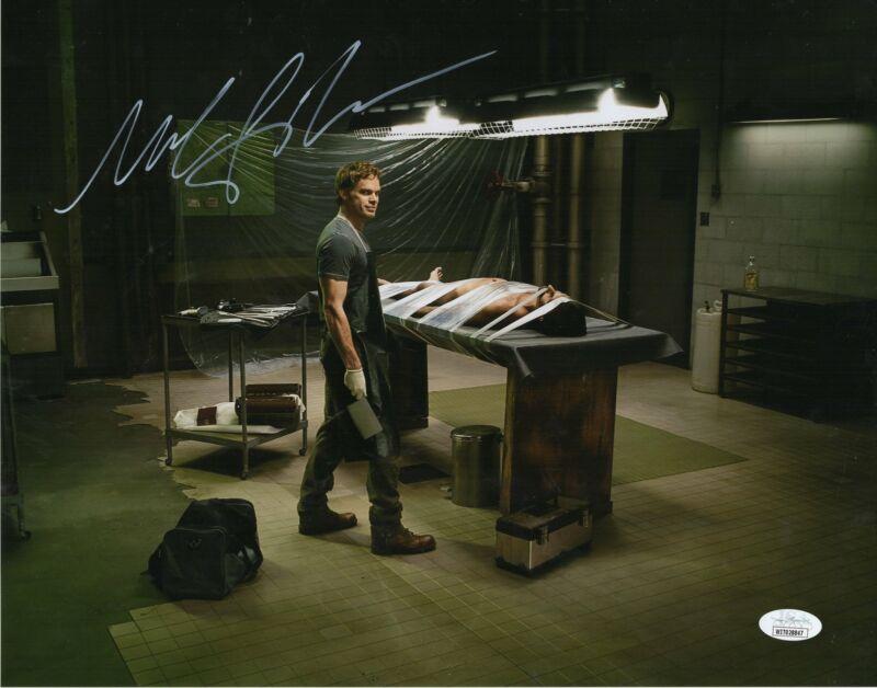 Michael C. Hall Autograph 11x14 Photo Dexter Signed JSA COA D6