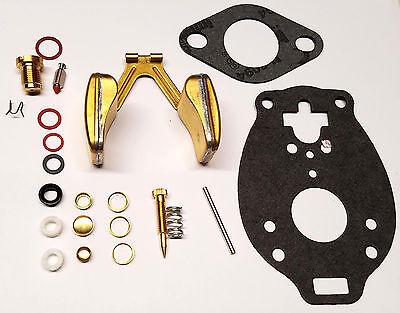 Marvel Schebler Economy Carburetor Kit W Float Ford 8n Naa Jubilee 600 800 900