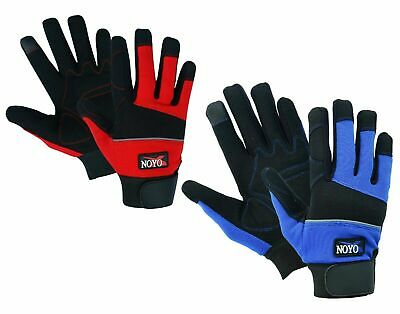 Mechanics Work Gloves Washable Hand Protection Farmers Gardening Diy Builders