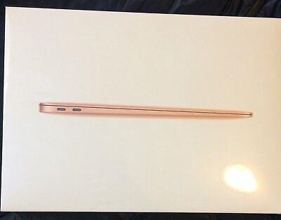 "Apple 13.3"" MacBook Air 128GB Retina Display (2018, Gold) MREE2LL/A *NEW SEALED*"