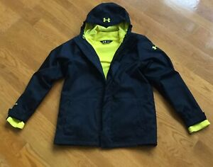 Under Armour Youth 3 in 1 Coldgear Coat - Good Condition