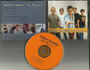 DEXTER-FREEBISH-My-Madonna-2001-USA-PROMO-Radio-DJ-CD-Single-MINT