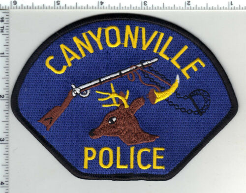 Canyonville Police (Oregon) 2nd Issue Shoulder Patch
